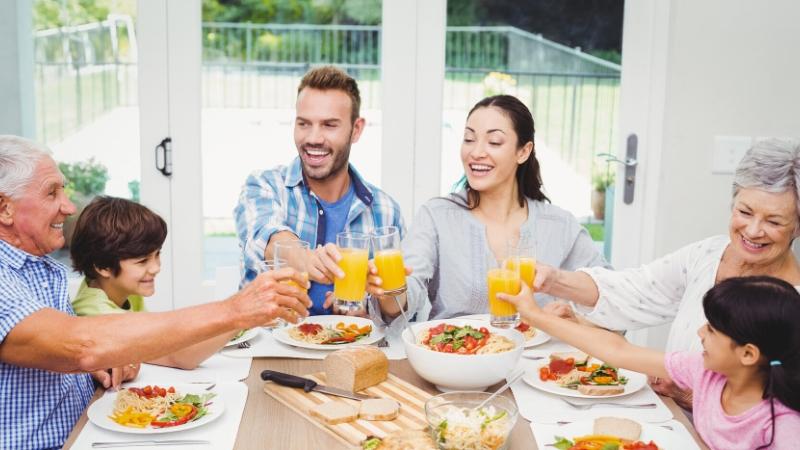 Beneficios de compartir en Familia