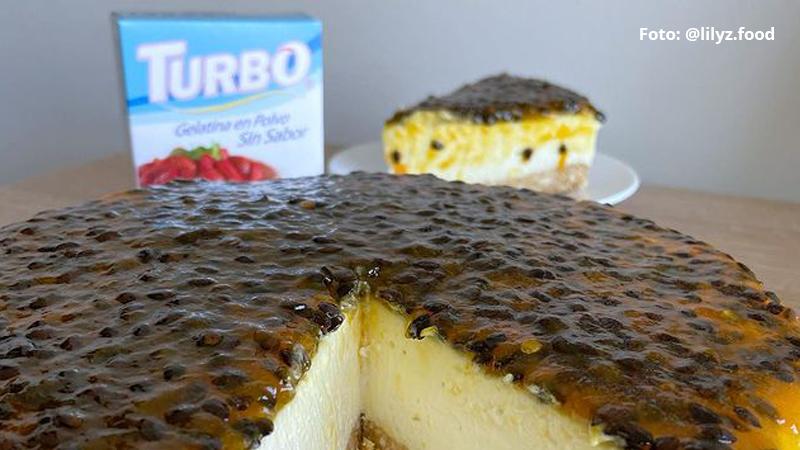 Cheesecake de Maracuya - Por @lilyz.food