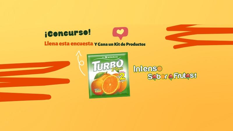 Danos tu opinión y gana un kit de productos Turbo Plus